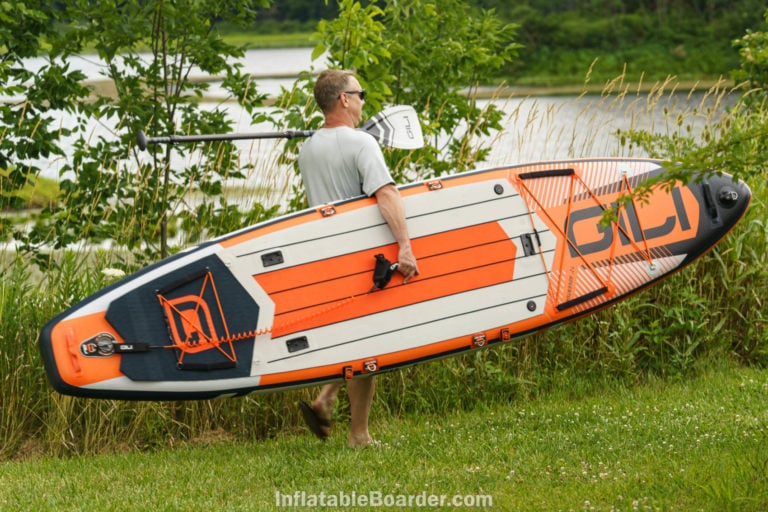 GILI Adventure 12' Paddle Board - 2021 All-Around Review