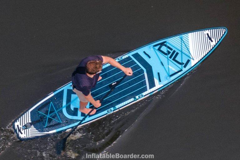 """2021 GILI Meno 12'6"""" paddle board review"""