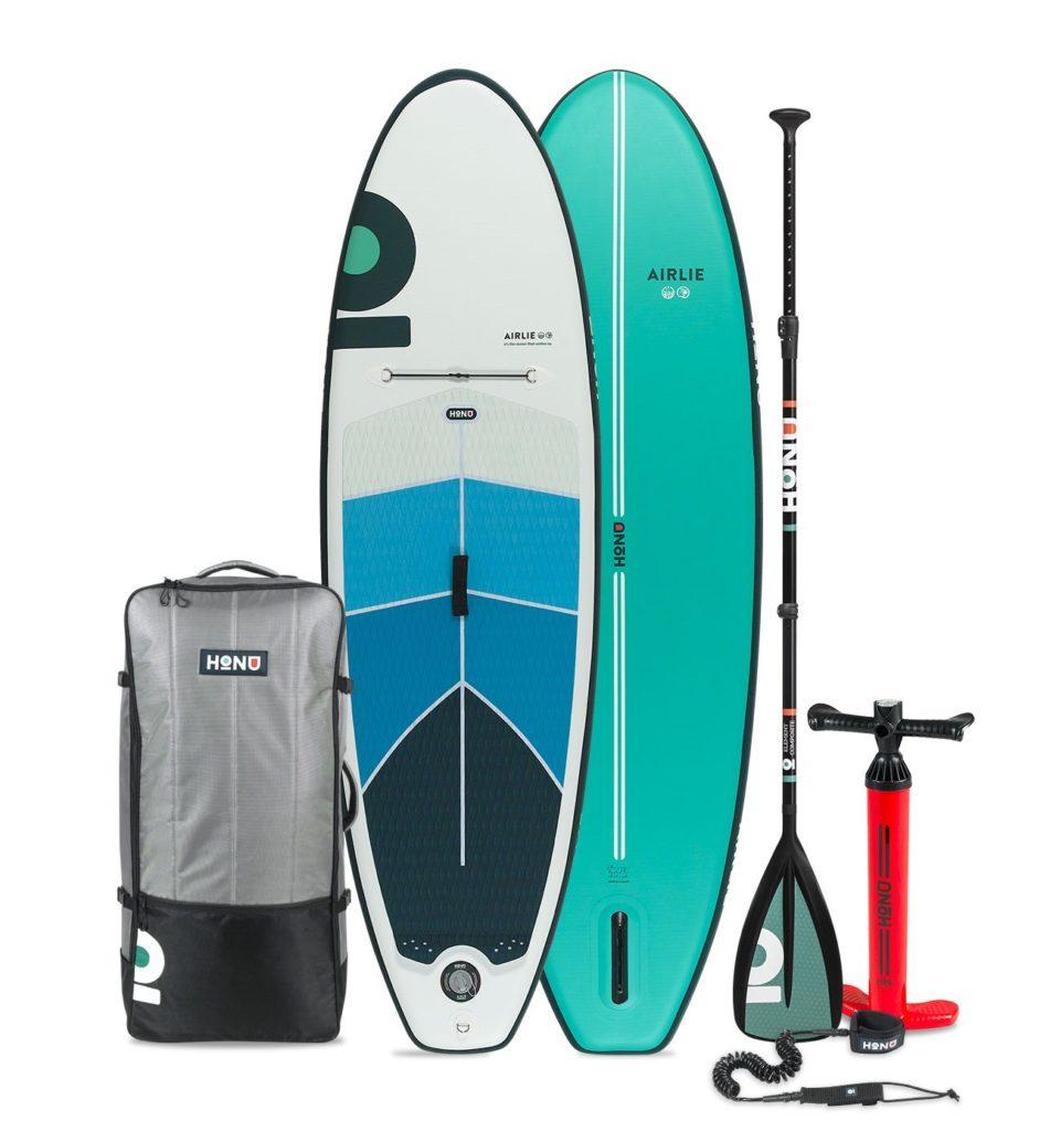 HONU Arlie kids paddle board - included accessory bundle