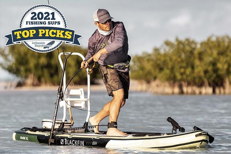 2021's best fishing paddle boards compared.