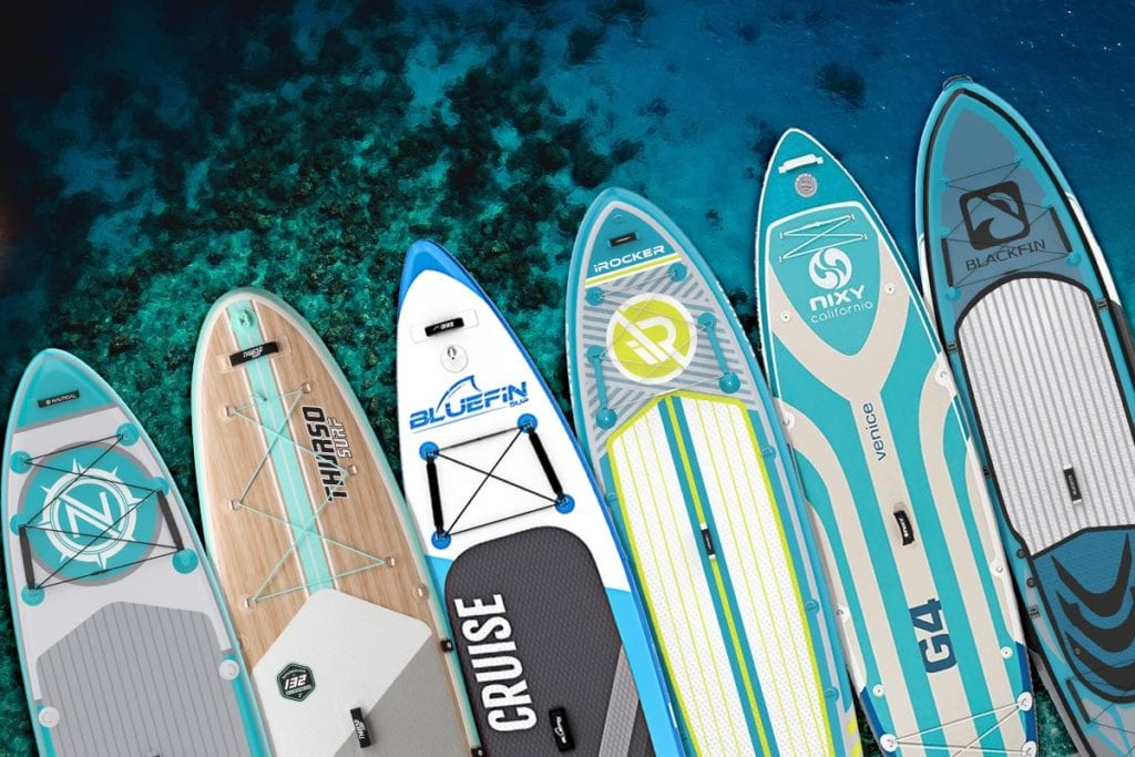 2021 Best inflatable paddle boards deals