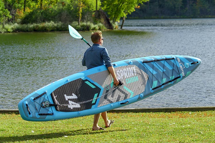 Bluefin Sprint Carbon inflatable paddle board review