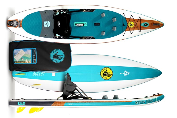 2021 Body Glove Bullet inflatable sup review
