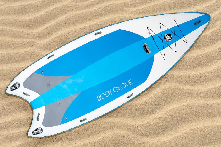2021 Body Glove Crusader inflatable sup review